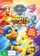 PAW Patrol Mighty Pups DVD Australia