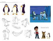 PAW Patrol Nickelodeon Penguins Design