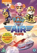 PAW Patrol Air Pups DVD UK