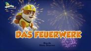 PAW Patrol – Helfer auf vier Pfoten Das Feuerwerk