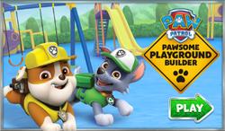 PPB Pawsome Playground Builder titlescreen