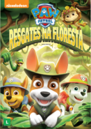 PAW Patrol Jungle Rescues DVD Brazil