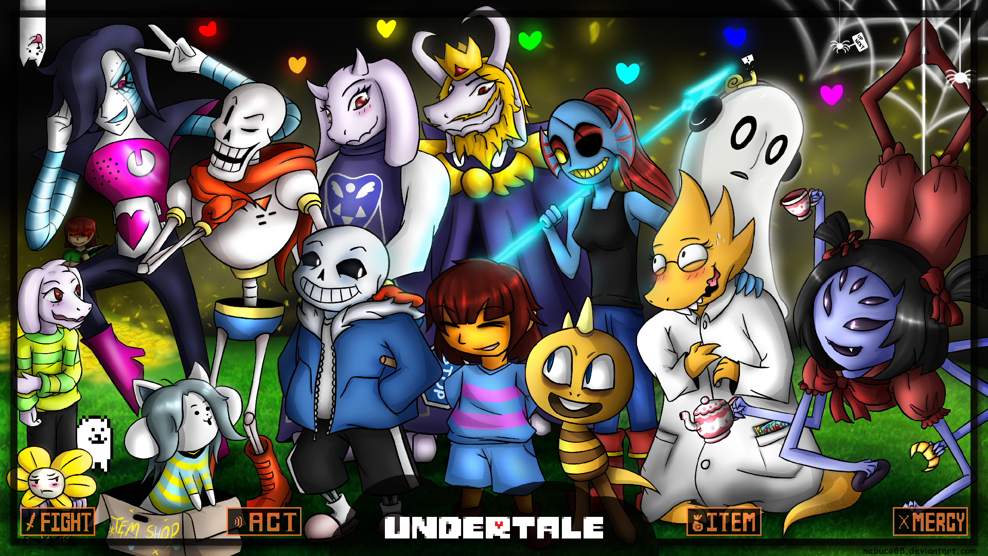 Image - Undertale wallpaper by nabuco88-d9m046m.png   PAW ...