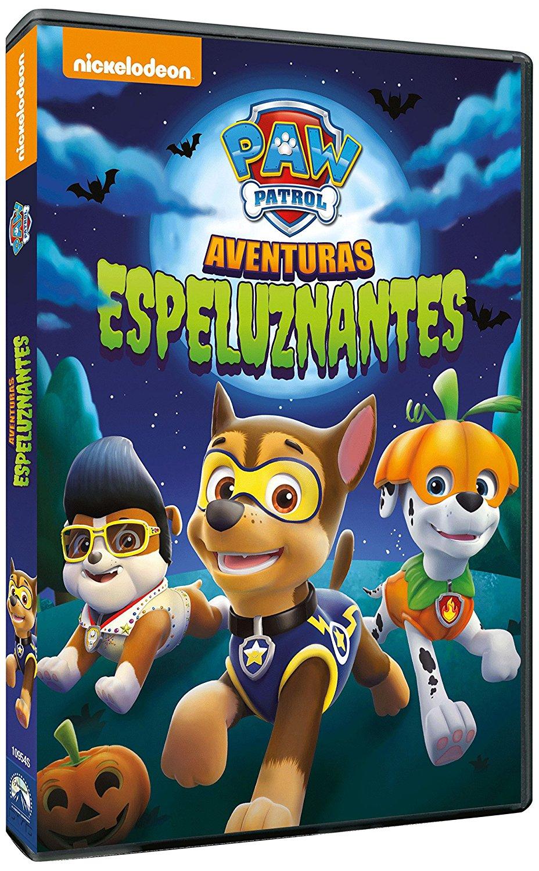 image - paw patrol halloween heroes dvd spain | paw patrol wiki