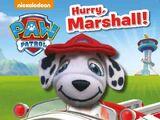 Hurry, Marshall!
