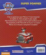 PAW Patrol Pat' Patrouille Super pompier Back Cover