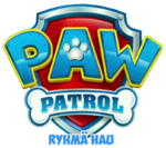 Ryhmä Hau Logo PAW Patrol Finnish