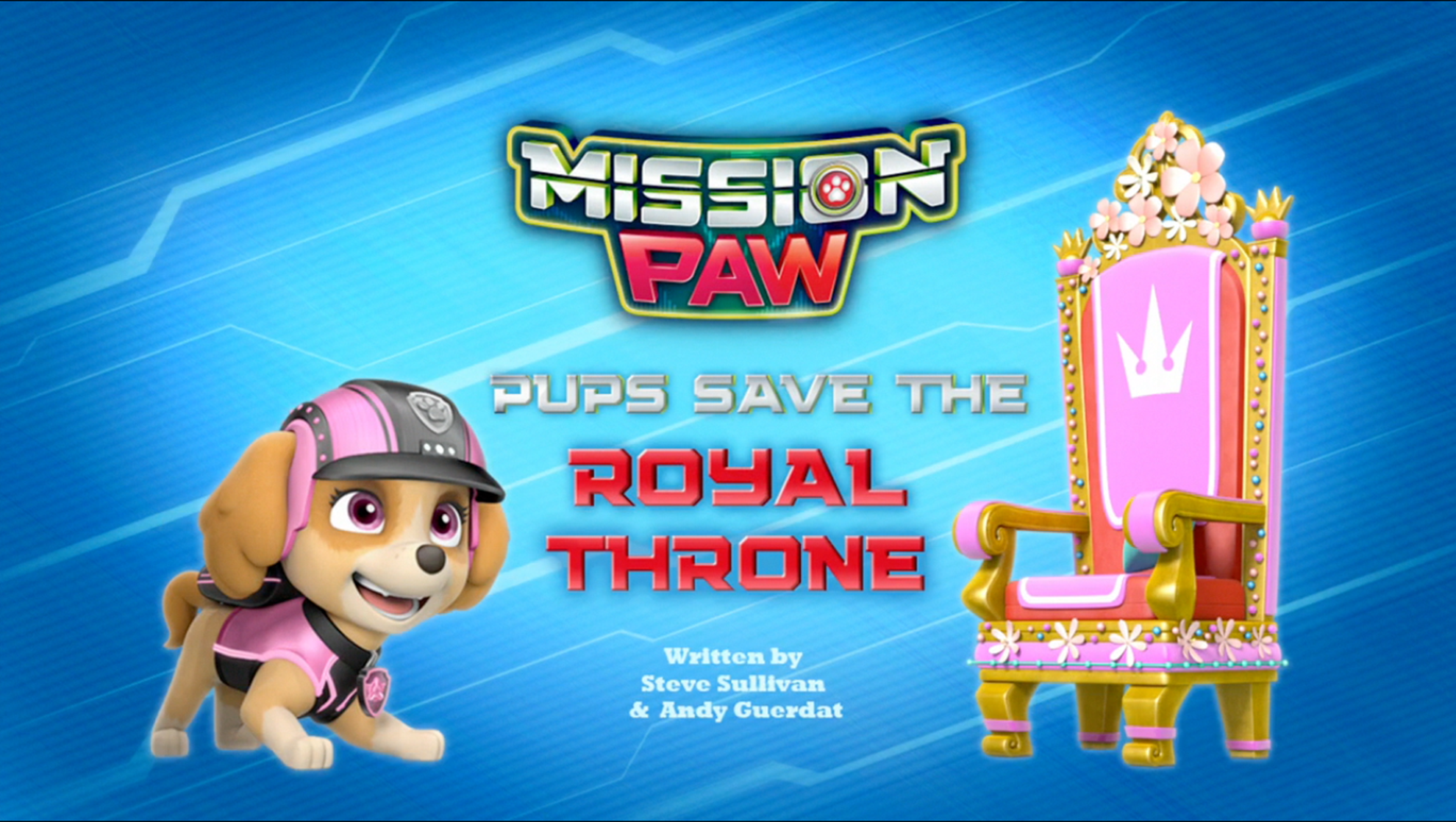 Mission Paw Pups Save The Royal Throne Paw Patrol Wiki