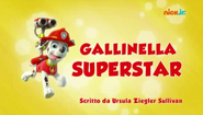 PAW Patrol Gallinella superstar