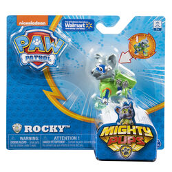 Mighty Pups Rocky figure