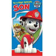 Birthday card- son