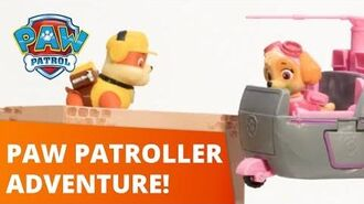 PAW Patrol Paw Patroller Adventure Toy Episode