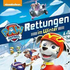 German Nickelodeon cover (<i>Rettungen im Winter</i>)