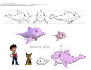 PAW Patrol Dolphins Design