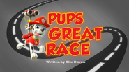 Pups Great Race 1