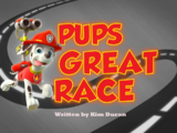 Pups Great Race