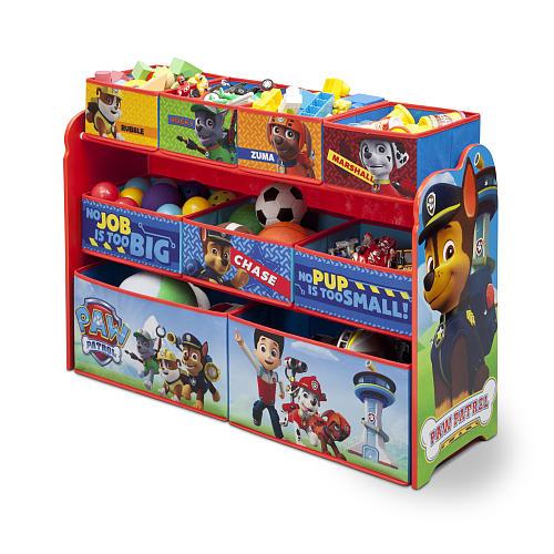 Multi Bin Toy Organizer