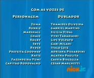 PAW Patrol Brazilian Portuguese Cast Credits