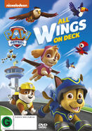 PAW Patrol All Wings on Deck DVD New Zealand