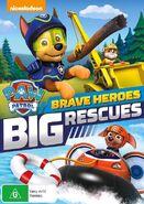 PAW Patrol Brave Heroes, Big Rescues DVD Australia