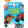 Let's Learn Science and Math DVD New Zealand