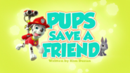 Pups Save a Friend (HD)