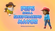 Pups Save a Sleepwalking Mayor (HQ)