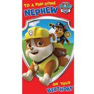 Birthday card- nephew