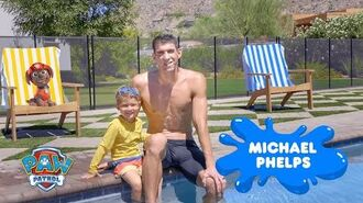 PAW Patrol Sing Along! Olympian Michael Phelps Water Safety PSA