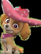 Skye cowgirl pink