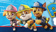 Ultimate Rescue Fire Chase Rubble And Skye