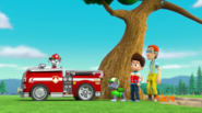 PAW Patrol Pups Save a Lucky Collar Cap'n Turbot Ryder Marshall Rocky