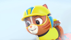 PAW Patrol Pups Save a Snowboard Competition Scene 3