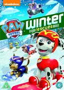 PAW Patrol Winter Rescues DVD UK