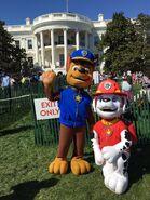 PAW Patrol at White House