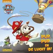PAW Patrol Pup, Pup, and Away! Book Dutch