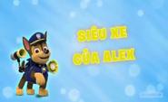 Những chú chó cứu hộ Siêu xe của Alex