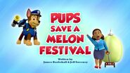 Pups Save a Melon Festival