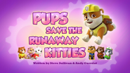 Pups Save the Runaway Kitties (HQ)