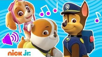'Do You Know The PAW Patrol?' Nursery Rhymes Sing Along Song Nick Jr.