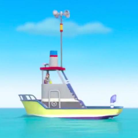 The <i>Flounder</i> in season one