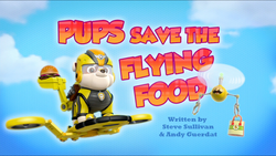 Pups Save the Flying Food (HQ)