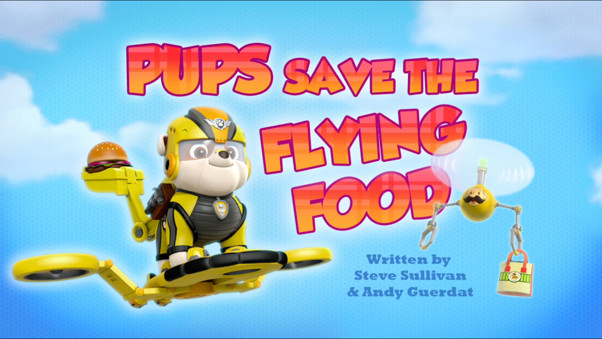 Image Pups Save The Flying Food Hqpng Paw Patrol Wiki