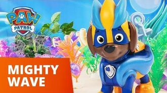 PAW Patrol Mighty Pups Charged Up Mighty Wave Toy Episode PAW Patrol Official & Friends