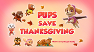 Pups Save Thanksgiving (HQ)