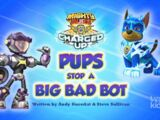 Mighty Pups, Charged Up: Pups Stop a Big Bad Bot