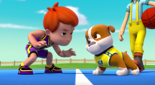 File:PAW Patrol Pups Save a Basketball Game Rubble and Cap'n Turbot Error.png