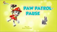 PAW Patrol – Helfer auf vier Pfoten PAW Patrol-Pause