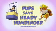 Pups Save Heady Humdinger (HQ)