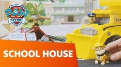 PAW Patrol Rebuilding the School! Toy Episode